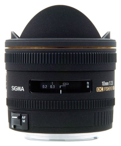 Sigma 10mm f:2.8 DC Fisheye Lens - PRE-OWNED